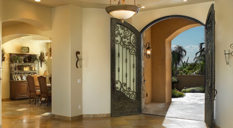 These Fine Wrought Iron Doors Are Available To Customers Throughout  Arizona. Contact Us Today At (602) 497 0239 For A Free Estimate On Your New  Luxury Iron ...