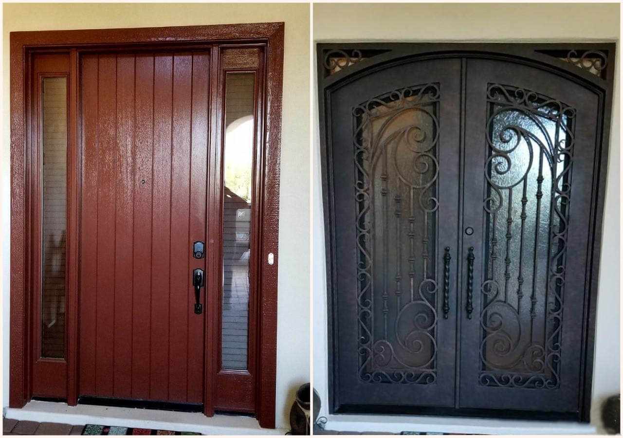 Iron Doors Arizona Custom Wrought Iron Doors In Phoenix Az