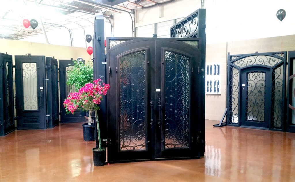 Showroom Iron Doors Arizona