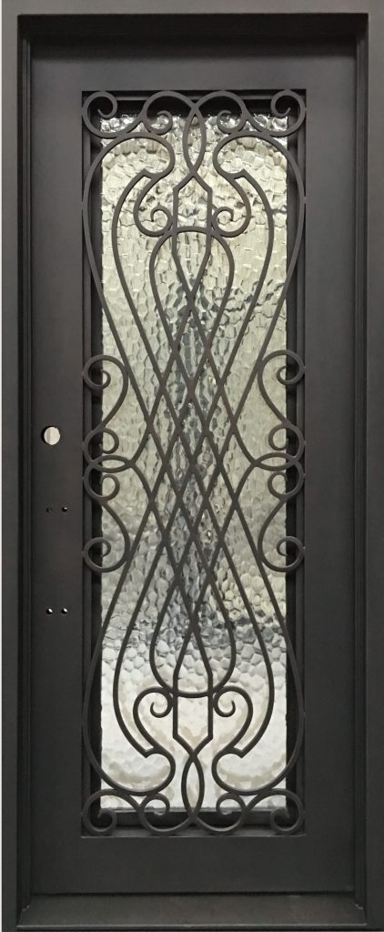 AZ22S single iron door