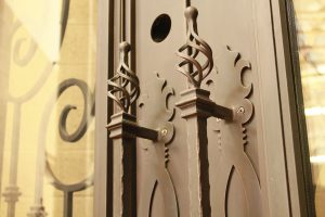 iron door accessories